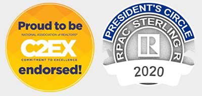 C2EX and Presidents Badge Images